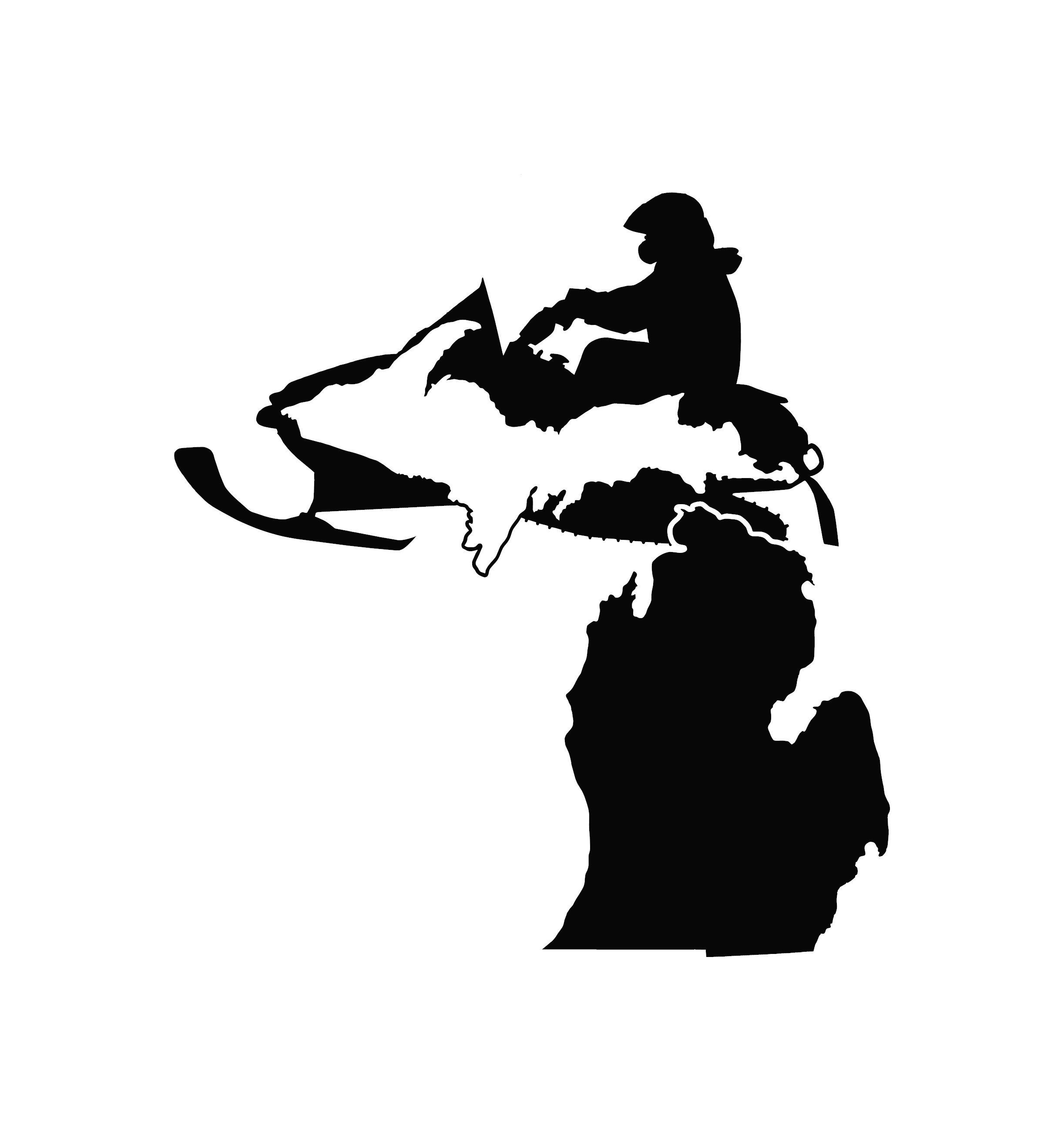 Michigan Snowmobile Vinyl Decal Multiple Sizes And Colors By Redbuddecals On Etsy Vinyl Decals Snowmobile Antique Tractors [ 2600 x 2445 Pixel ]