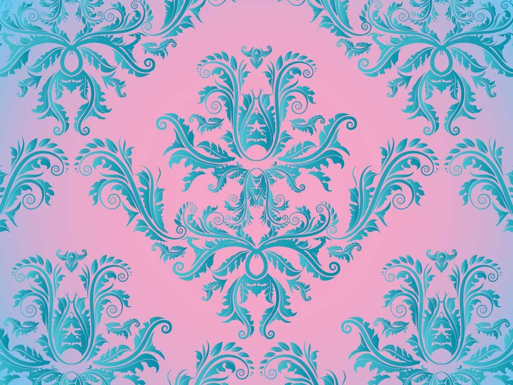 Damask Pattern Free vector patterns, Free vector