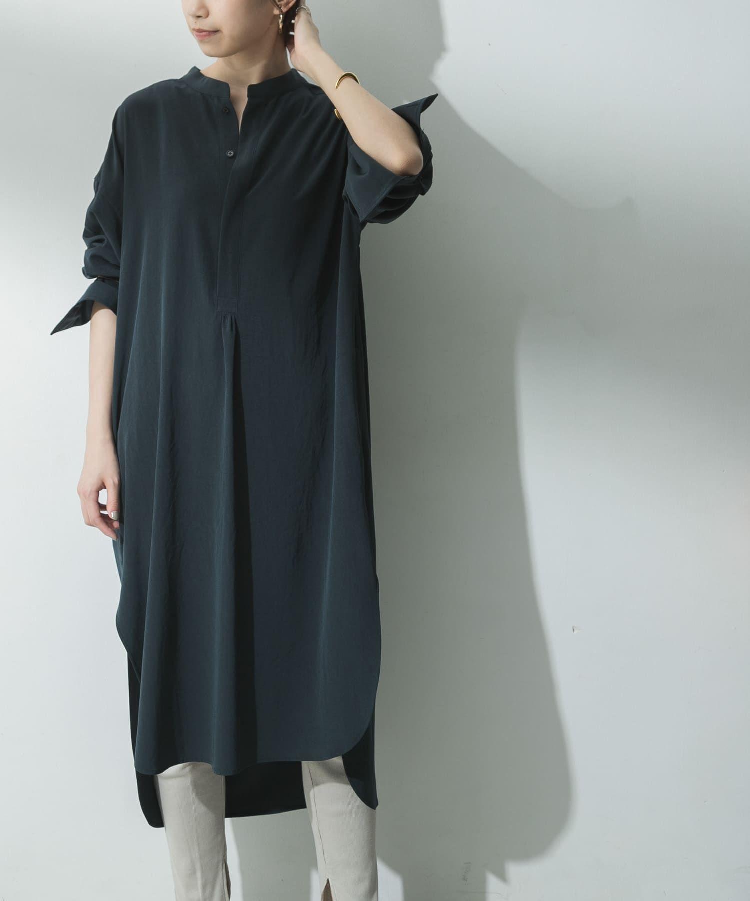 08sircus vintagecrape bandcollarshirts ps20sl dr02ul04 urban research公式ファッション通販 ファッション マキシドレス ワンピース
