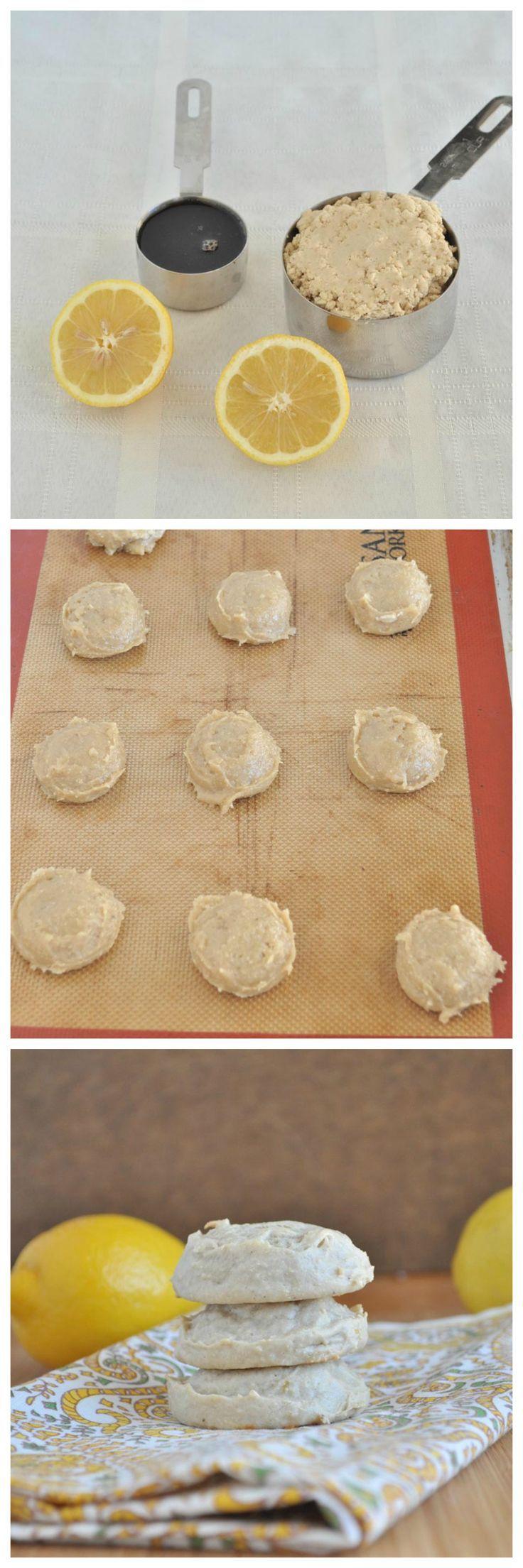 Flourless lemon cookies my whole food life food