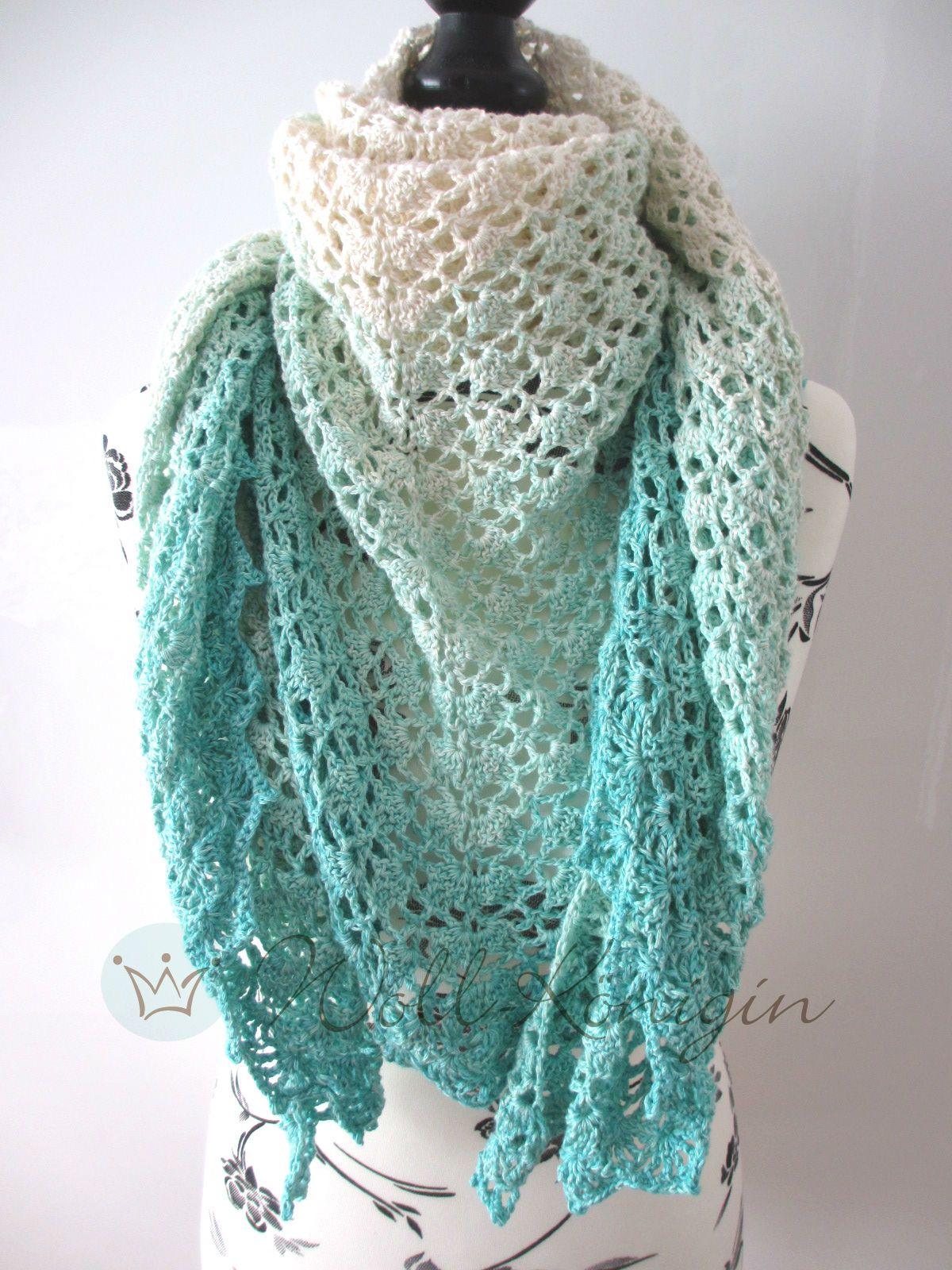 Anleitung Tuch Fano Crochet Crochet Patterns Crochet Und