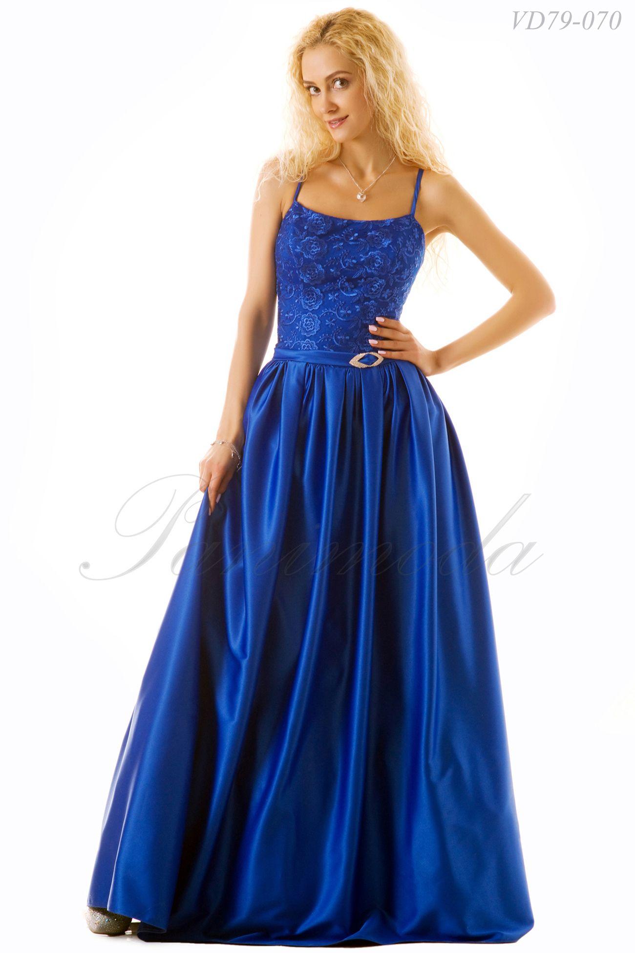 Платье длинное корсетное