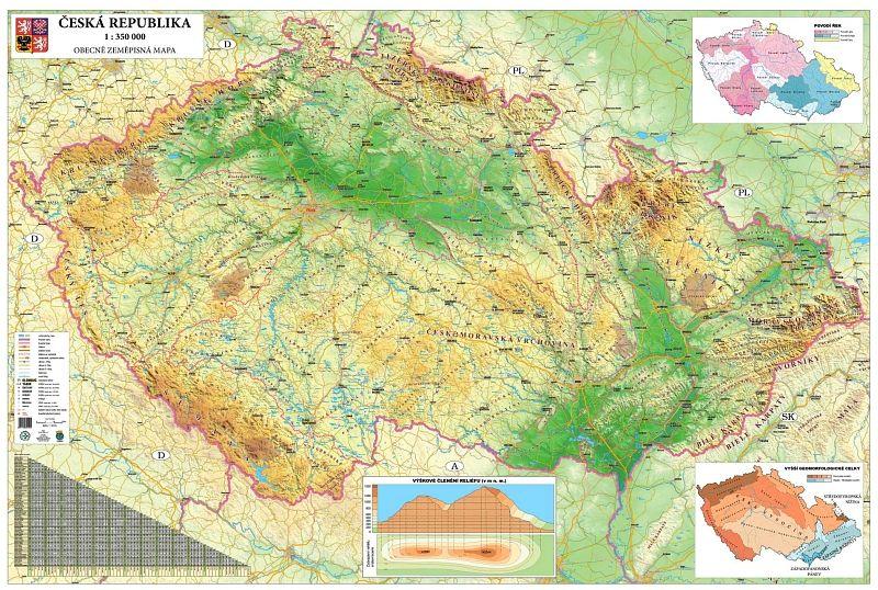 Mapa Ceske Republiky K Vytisknuti Vintage World Maps Canning