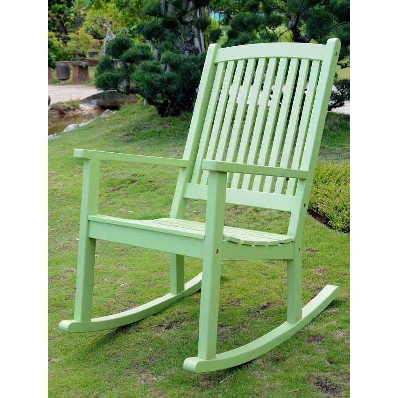 Beachcrest home bristol rocking chair reviews wayfair