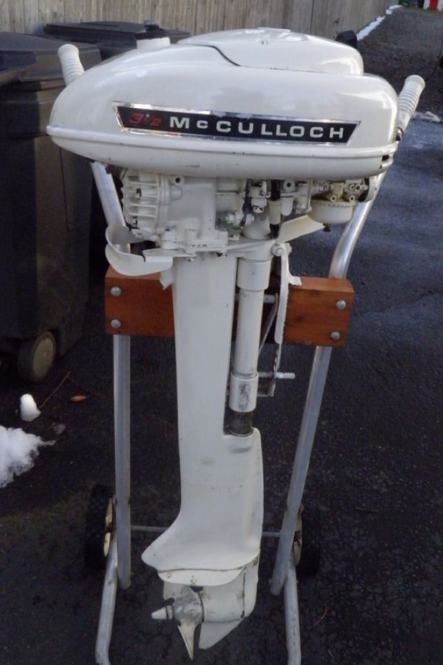 mcculloch outboard motor i won one of these at the boat show when life was slower paced. Black Bedroom Furniture Sets. Home Design Ideas