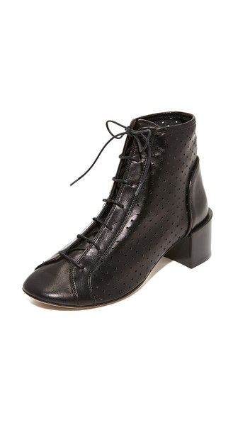 Acne Leather Lace Up Boots RgApWENT7w