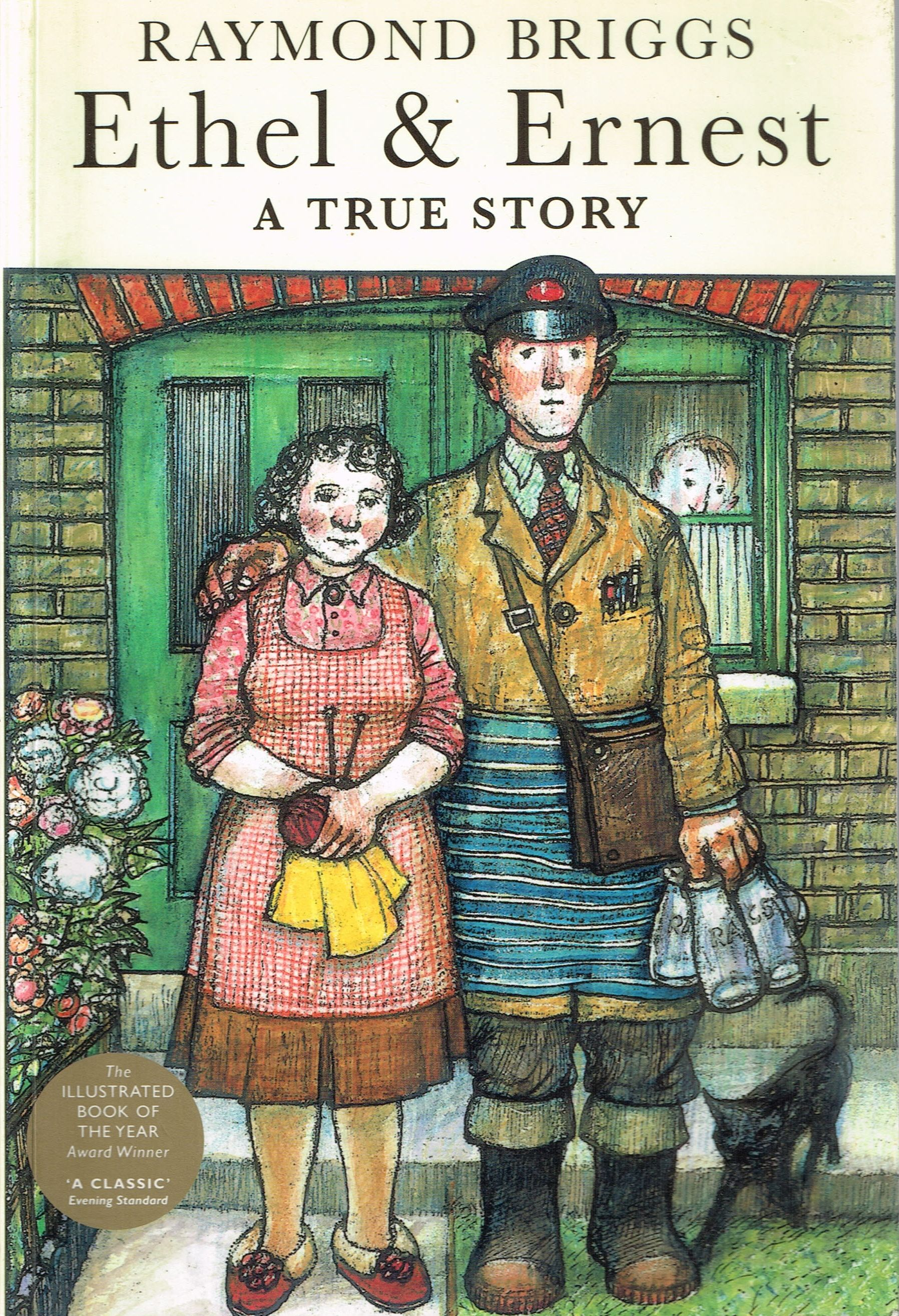Ethel & Ernest (1998) by Raymond Briggs. An affectionate and interesting look at the life and times and attitudes of Brigg's parents, from 1928 to 1971. Graphic novel. Finished 15th Sept 2014, first read.