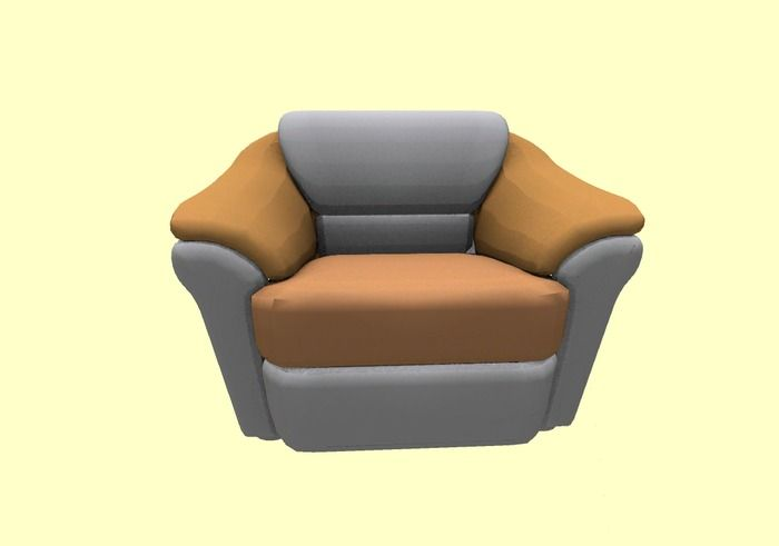 Sofa single seater Mesh  Full Perm