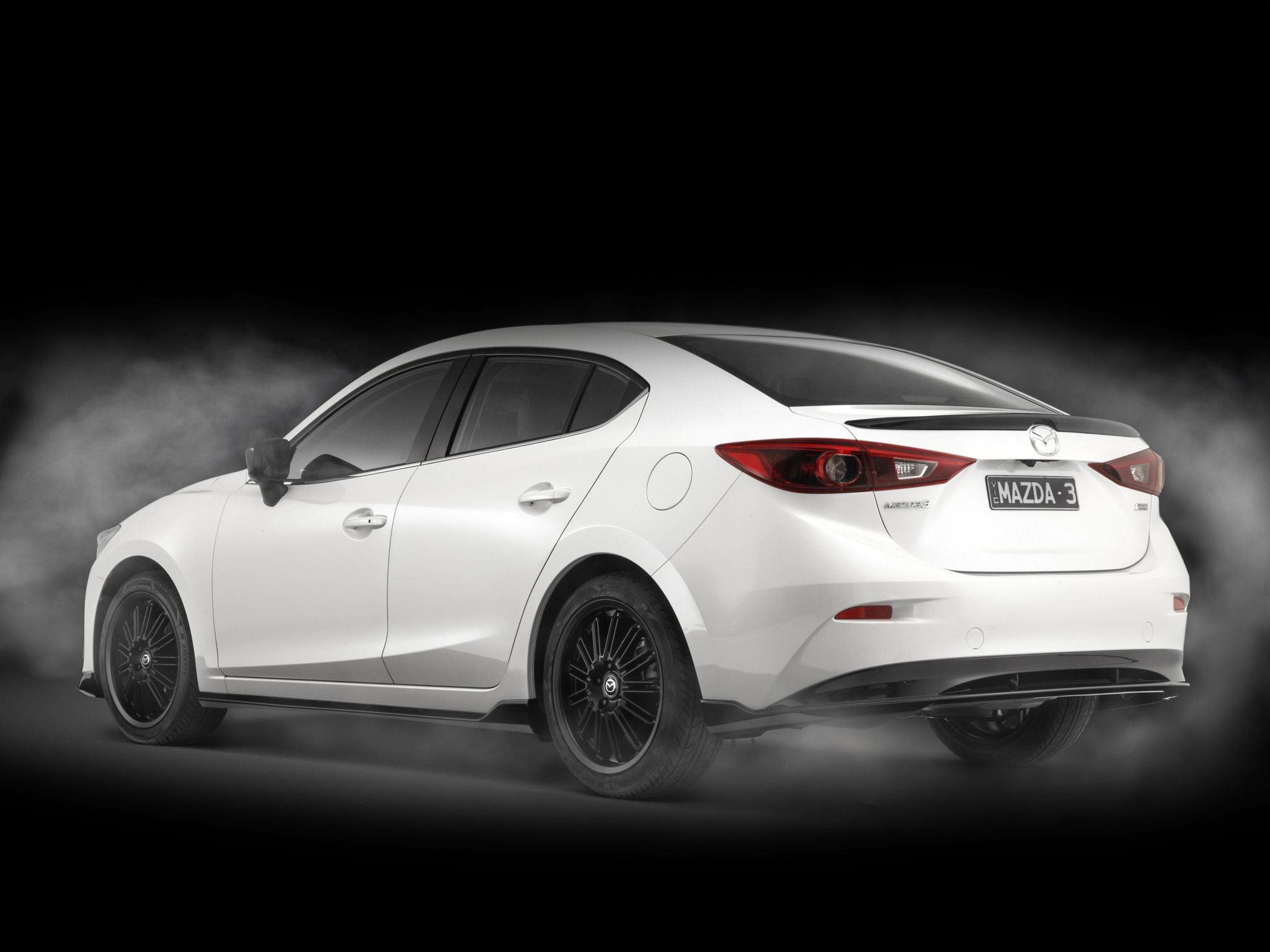 2015 Mazda3 Black Limited BM mazda wallpaper 4096x2731