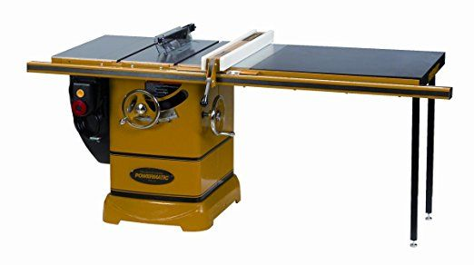 Powermatic 1792000K Model PM 2000 3 Horsepower Cabinet Saw with 50 ...