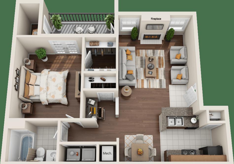 Suite A Floorplan Floor plans, Apartment communities, 2