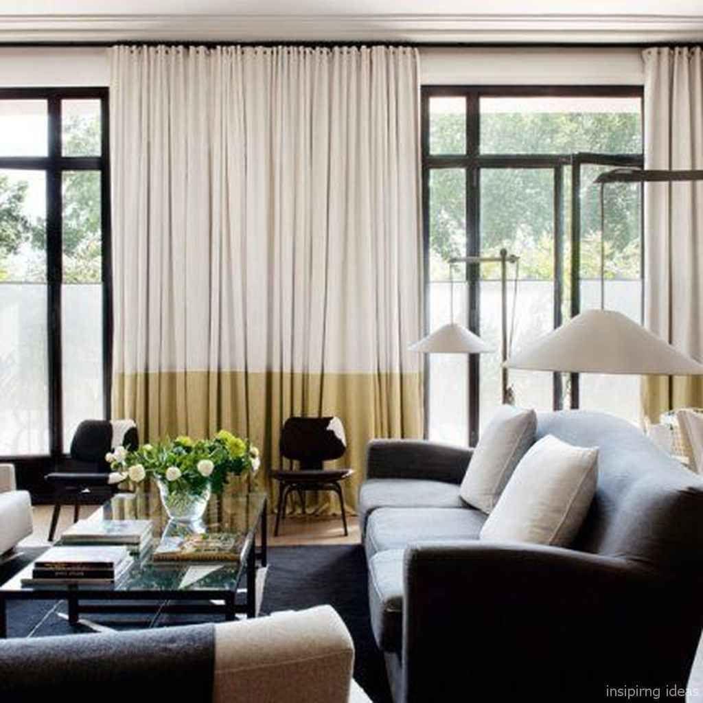 65 Chic Apartment Decorating Ideas Curtains Living Room