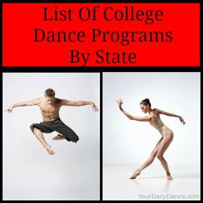 College Dance Programs Dance Program Dance Dance Colleges