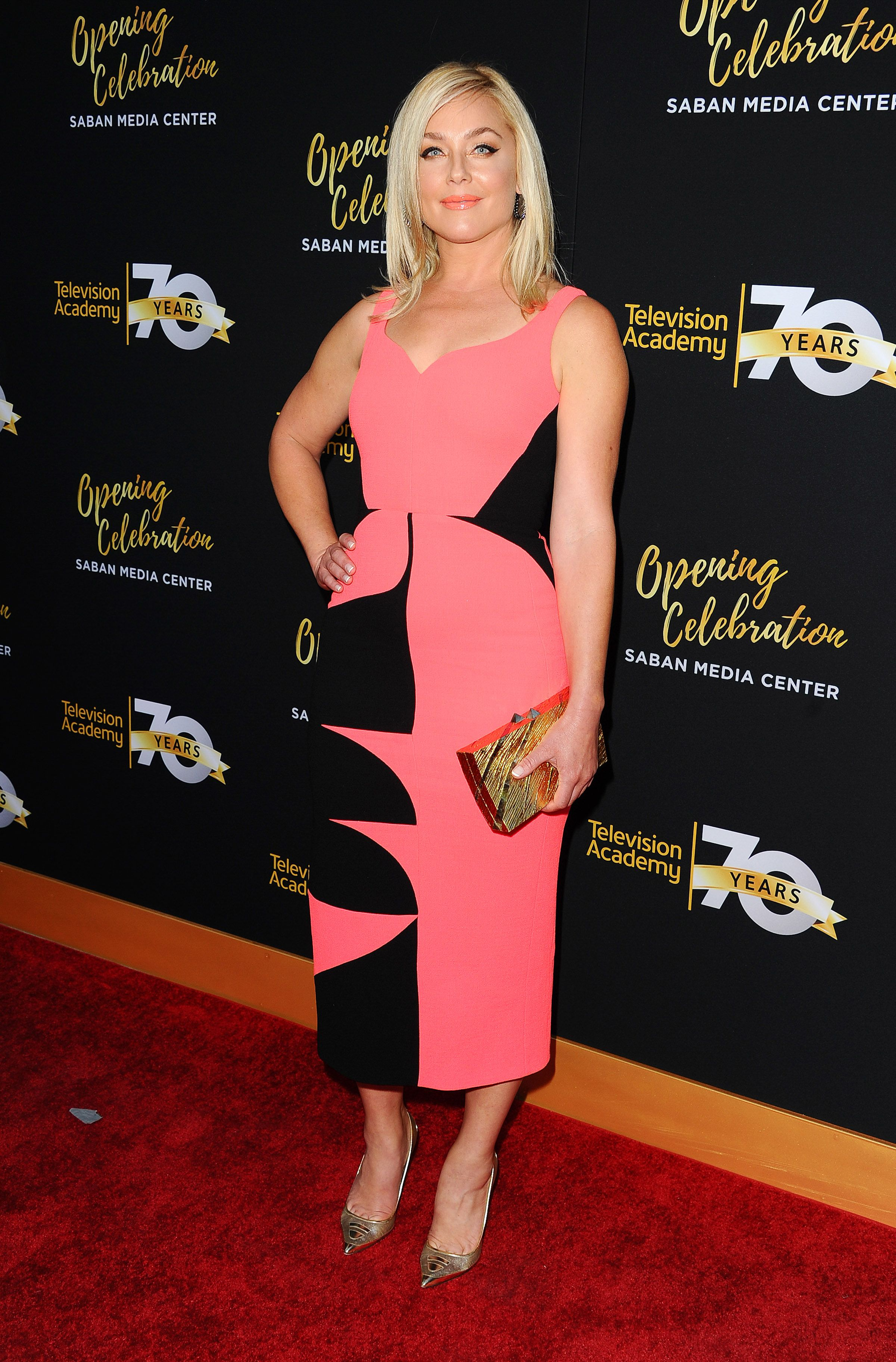 EMM KUO » Elisabeth Rohm carries our 'Gehry' Television Academy 70th Anniversary Celebration, Los Angeles, June 2 2016 #emmkuo #elisabethrohm #LA #fashion