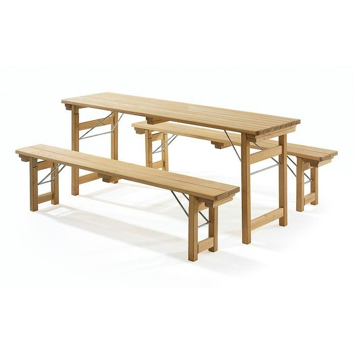 Robinia Folding Picnic Table Via Gardenista. I Would Love To Build This Set  To Take