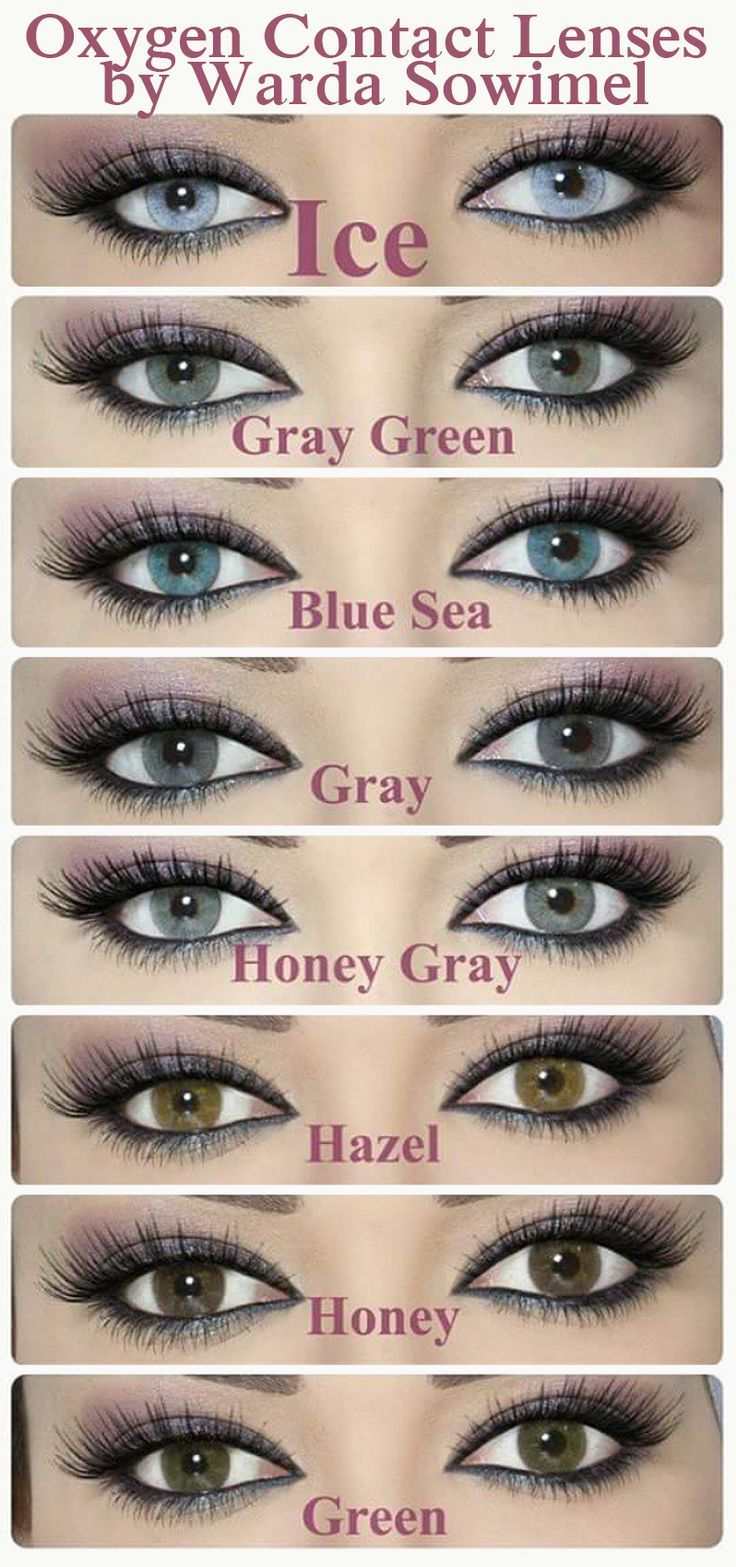 Hairstylism Eye Contact Lenses Blue Eye Color Colored Eye Contacts