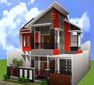 desain rumah minimalis 2 lantai modern | view rumah