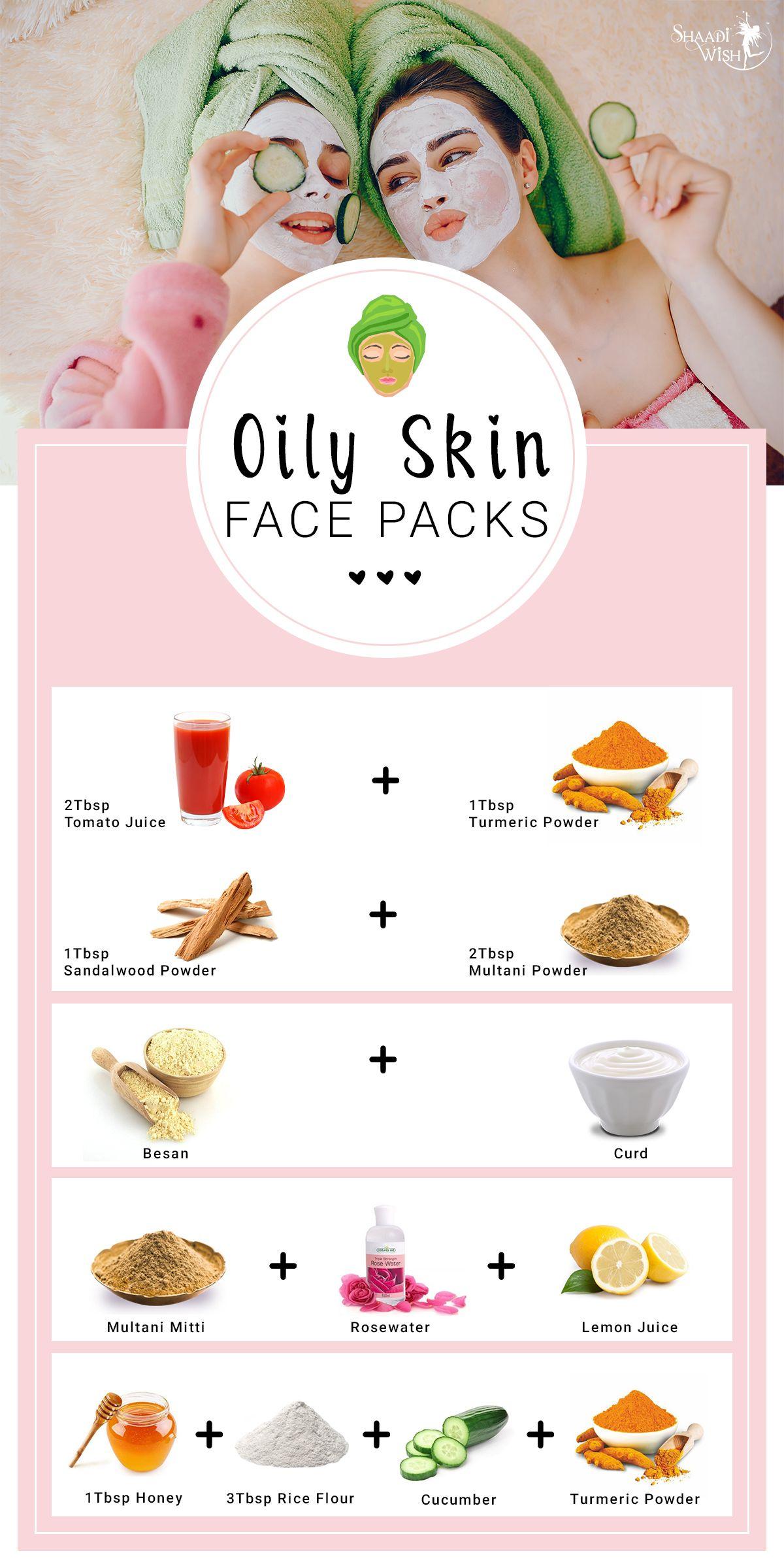 Amazingly Easy Homemade Face Packs For All Skin Types  Oily skin