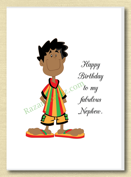 African American Nephew Birthday Card A With Images Nephew