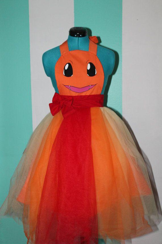 Charmander - Pokemon - Balgown Cosplay Apron by DarlingArmy ...