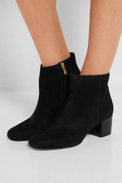 Sam Edelman - Edith suede ankle boots. Suede Ankle BootsBlack ...
