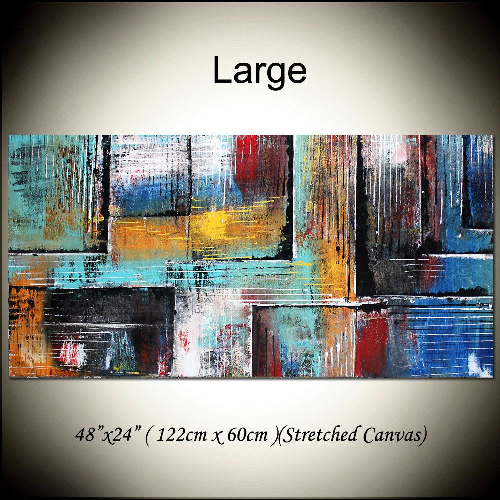Geometrical Painting Abstract Art Painting 48 Oil Painting Visual