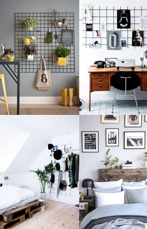 Descubra 12 dicas para decorar a casa de maneira prática e funcional sem gastar dinheiro utilizando materiais sem ...