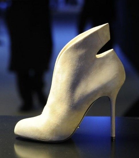 Sergio Rossi Women shoes fall winter 2013 2014 presented in Milan. A guest Janet Jackson!