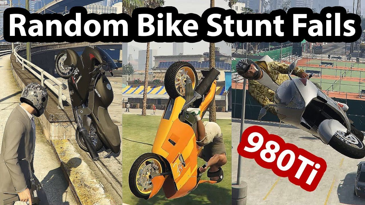 When You Try To Make A Good Bike Stunt But You Fail Everytime