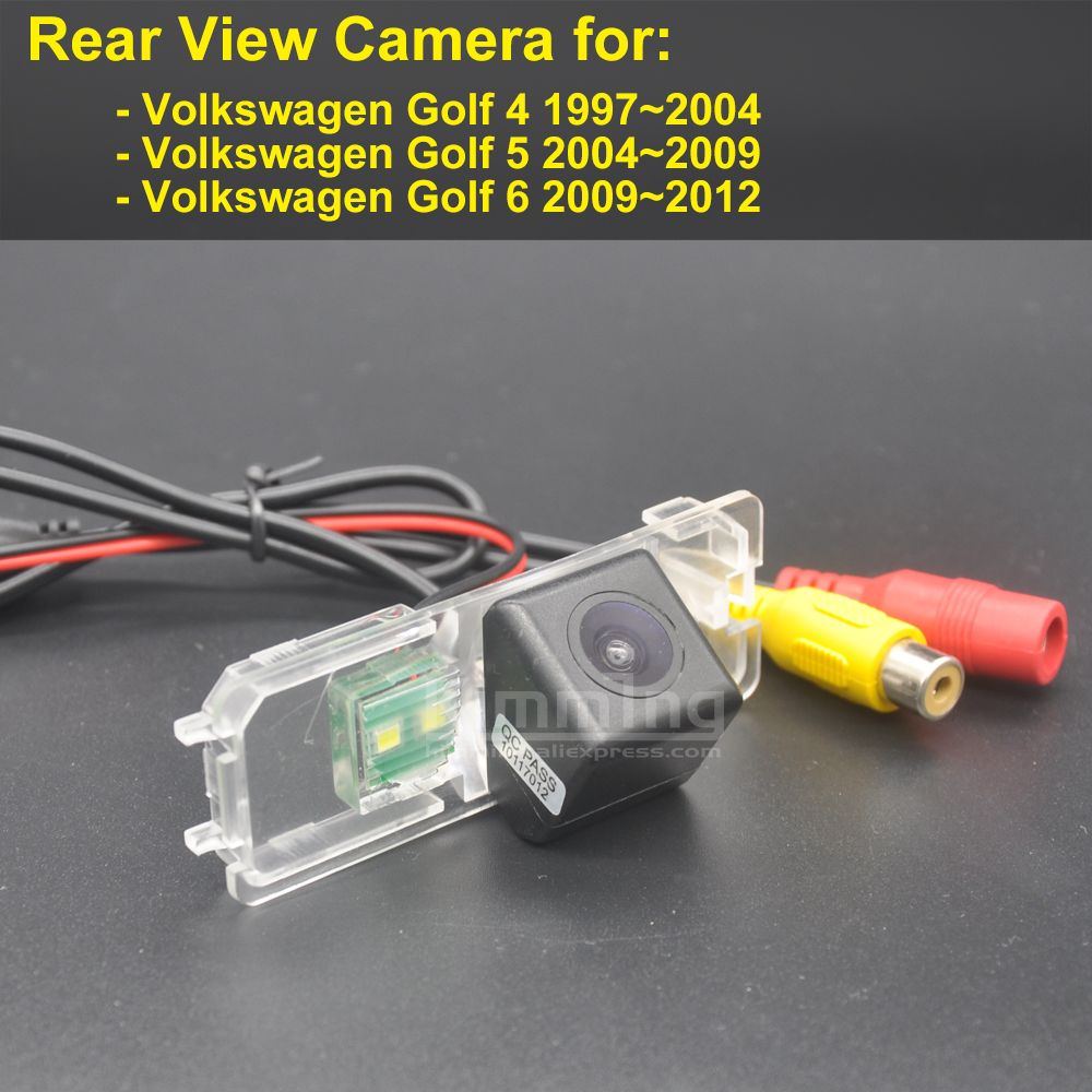 Car Rear View Camera For Volkswagen Vw Golf 4 5 6 Mk4 Mk5