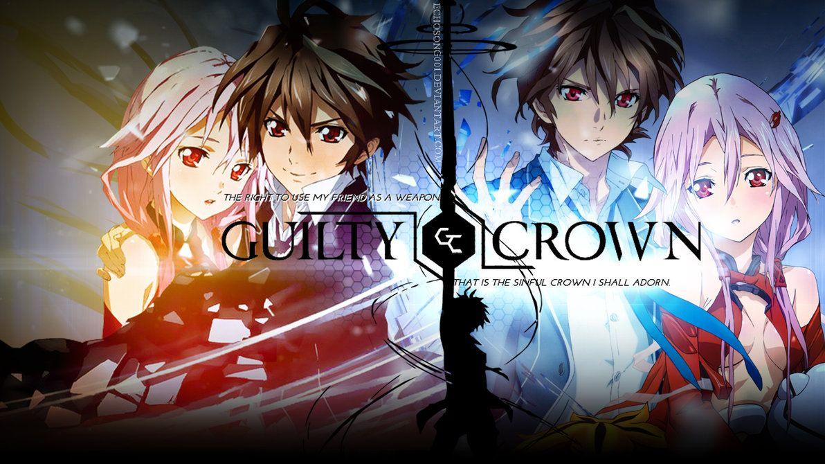Guilty Crown Wallpaper 1366x768 By Https Www Deviantart Com Echosong001 On Deviantart Guilty Crown Wallpapers Anime Final Fantasy Funny