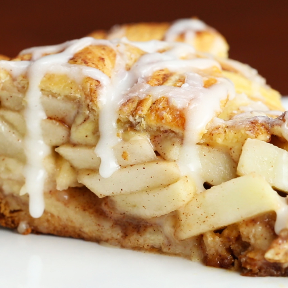 Cinnamon Roll Apple Pie Recipe by Tasty