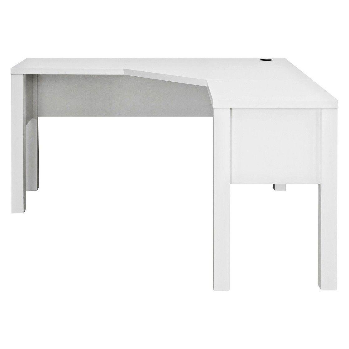 Ameriwood Executive Desk White White Desks Home Office Computer Desk White Corner Desk