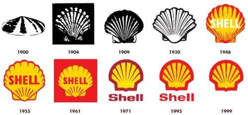shell oil logo history #shell #shelloil #design #logohistory