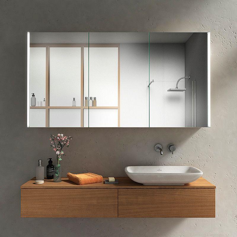 Bad Spiegelschrank Mit Seitlichen Lichtprofilen Kaufen Mit