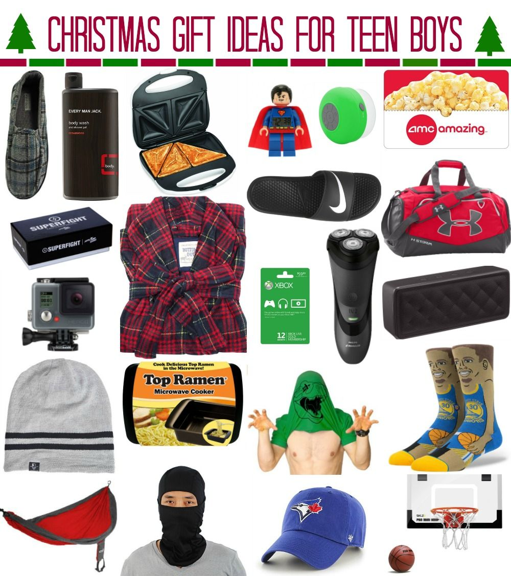 Christmas gift ideas for teen boys by Meg Duerksen of Whatever Craft ...