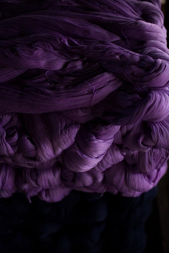 Japanese cotton yarns for Aizu Momen