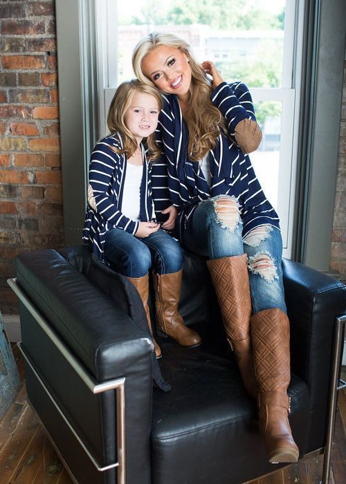 3b7eabc5e68a Cute outfit, and even cuter to match with my little girl! | Mommy ...