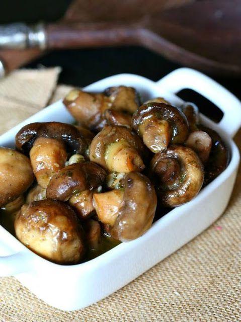 Natasha Sahashi's Style Blog What Makes You Happy ?!  : Slow Cooker Garlic Ranch Mushrooms - Asian Food