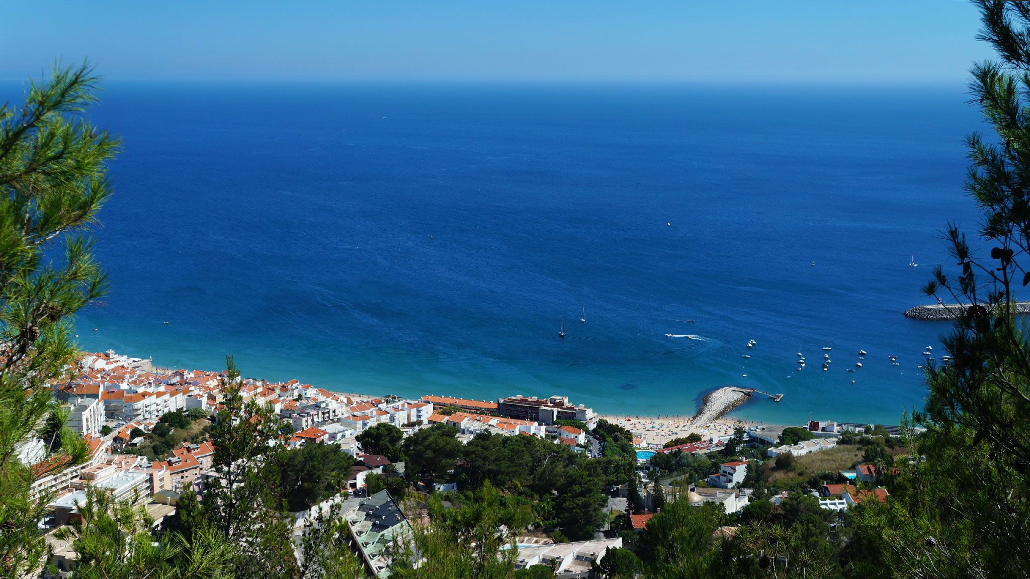 A picturesque fishing town, surrounded by the luxurious Natural Park Arrábida. It is a popular summer resort and one of the best spots around Lisbon for scuba diving and snorkelling. #Portugal #Europe #Summer #Holiday