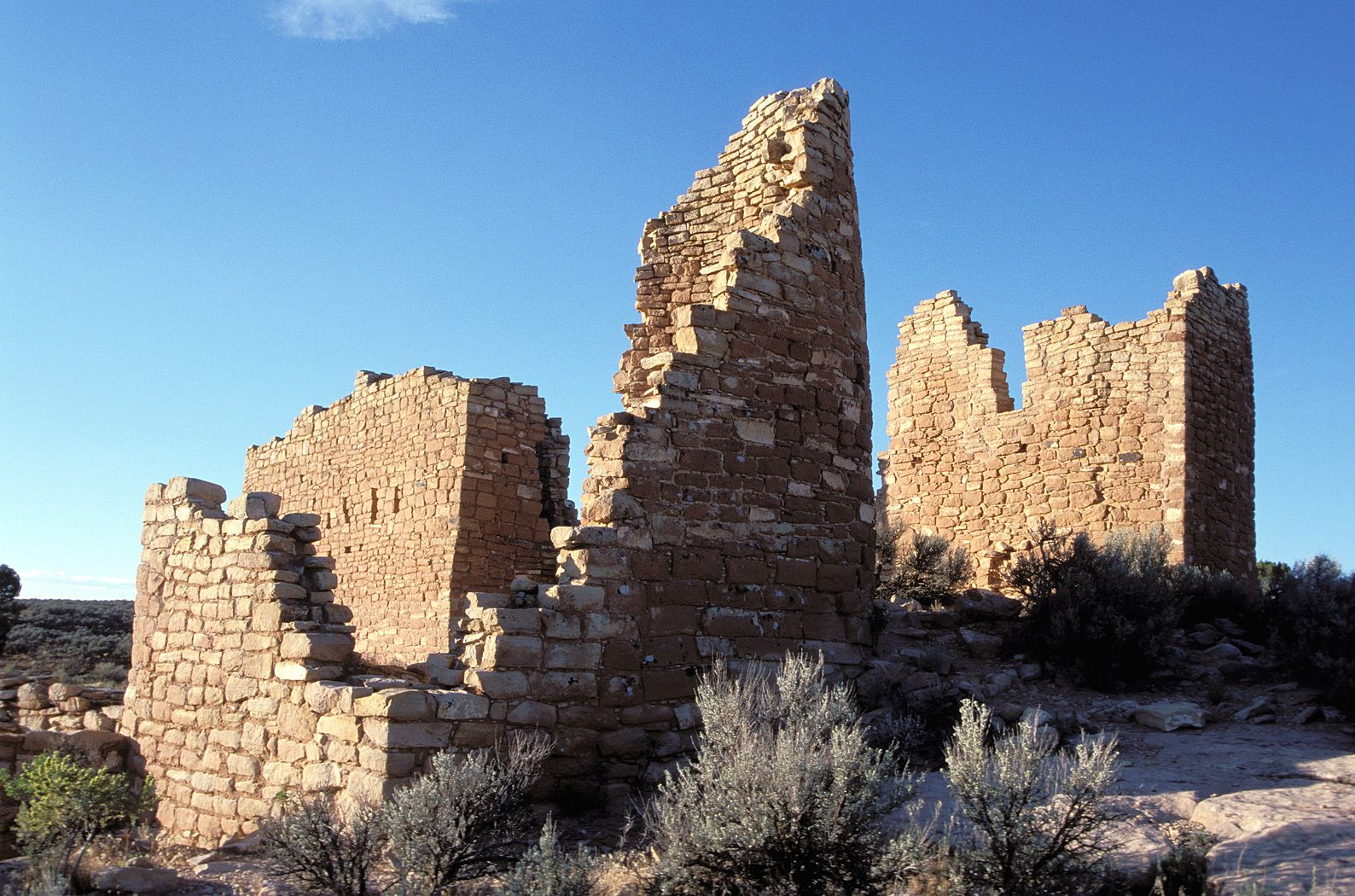 Hovenweep national monument ancient ruins national