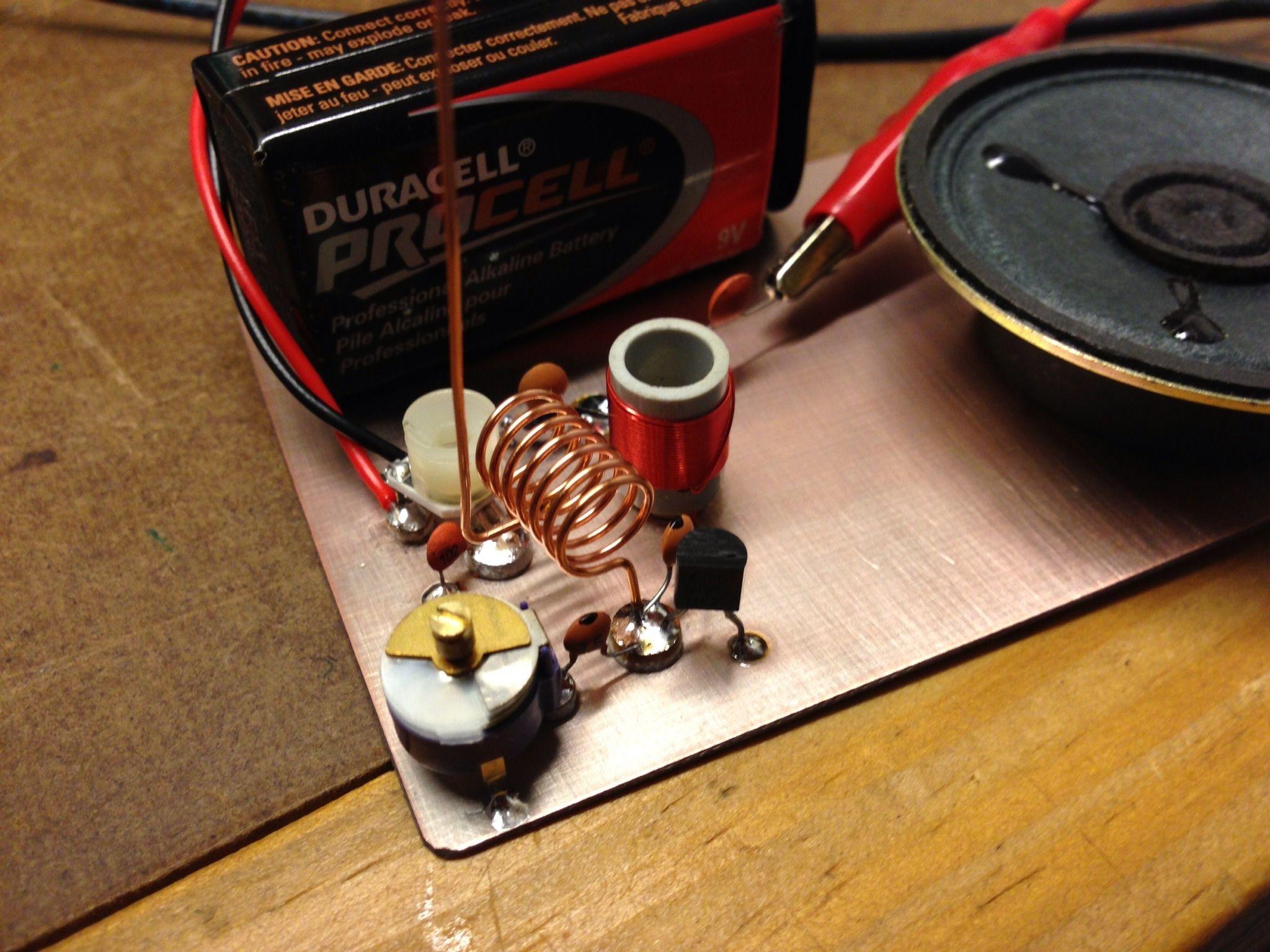 Simple FM Radio Electronics projects diy