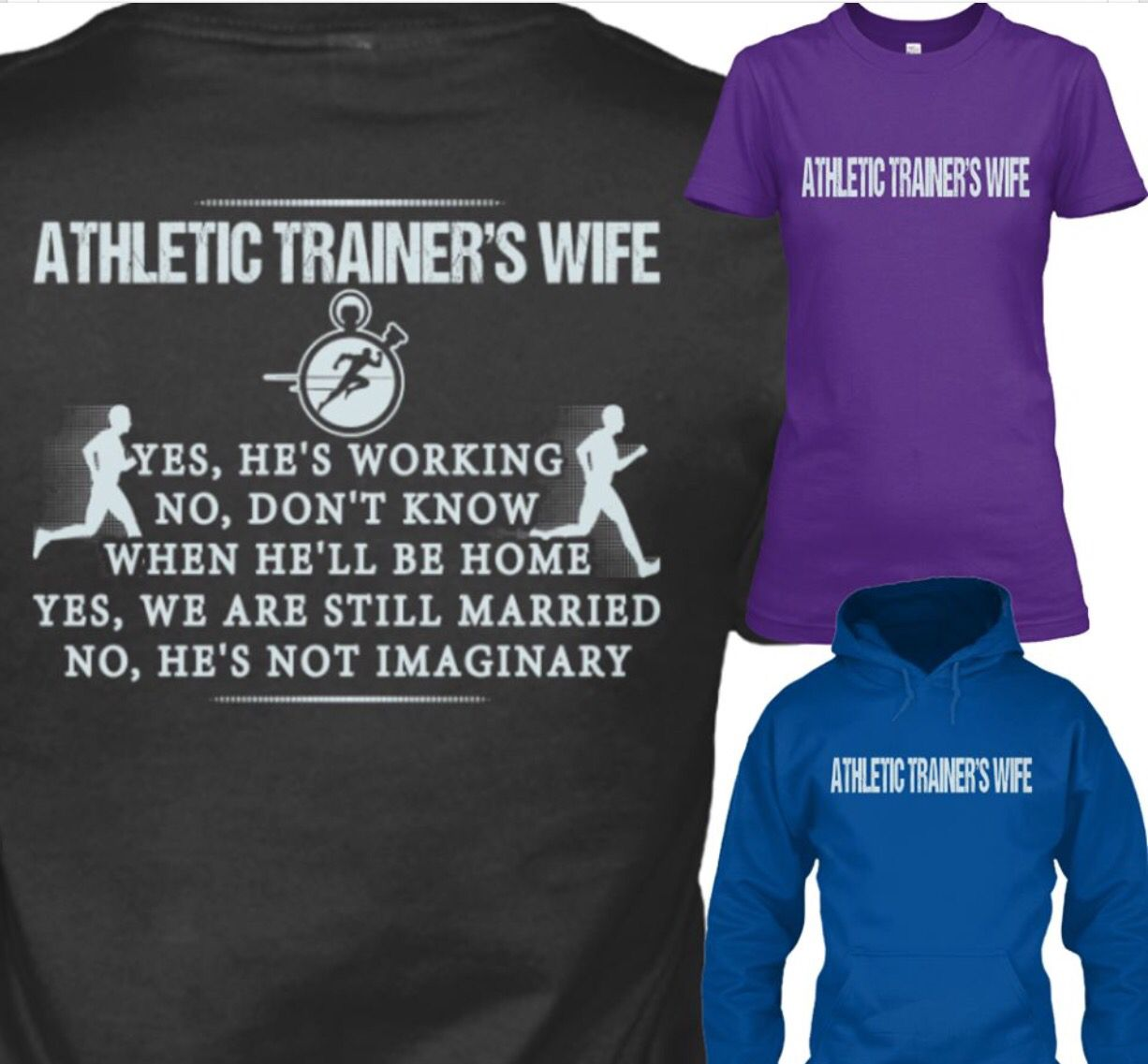 Some day my wife will need this. Athletic trainer's wife