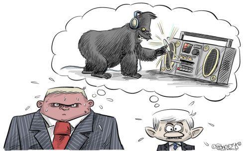 Robo, Miki a Gorila