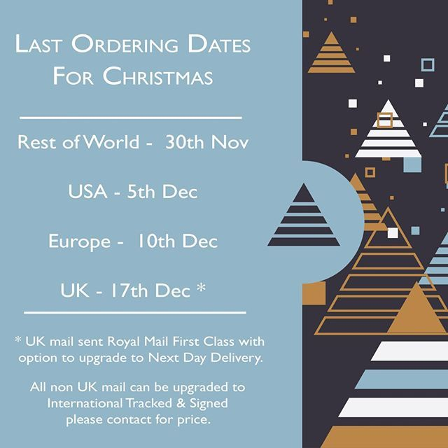 Last ordering date for USA 5th December.#christmascountdown #giftideas #stationerygift #persona ...