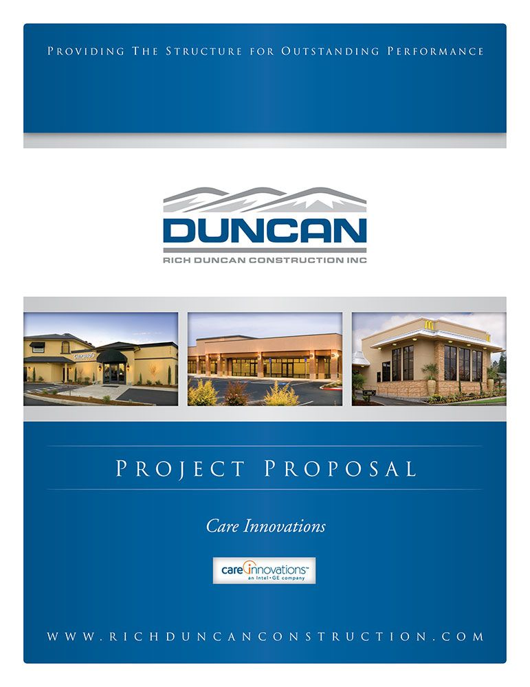Duncan Construction - DesignPoint, Inc Proposal Covers