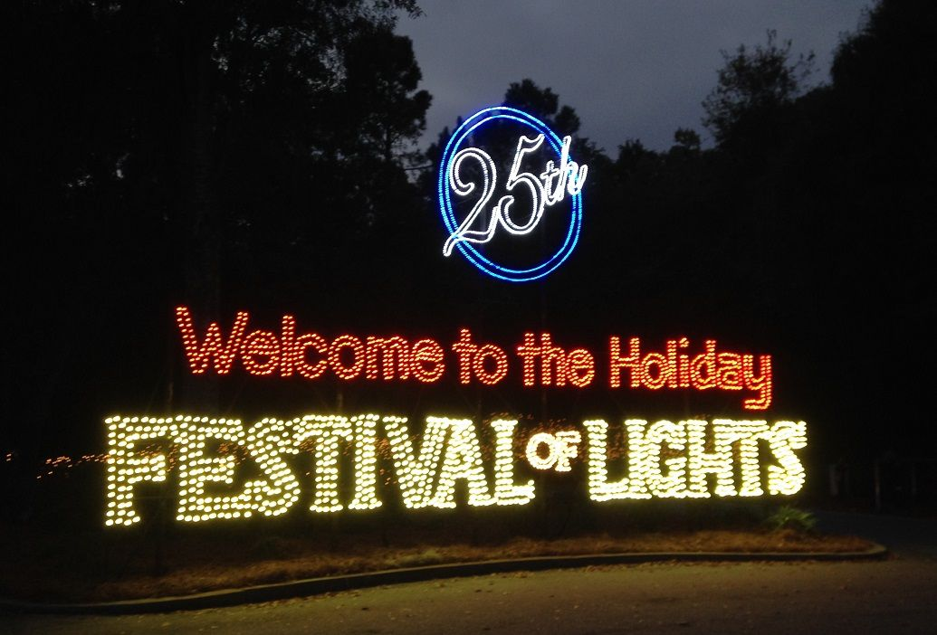 James Island Lights Interesting The Festival Turned 25 This Year James Island County Park Decorating Design