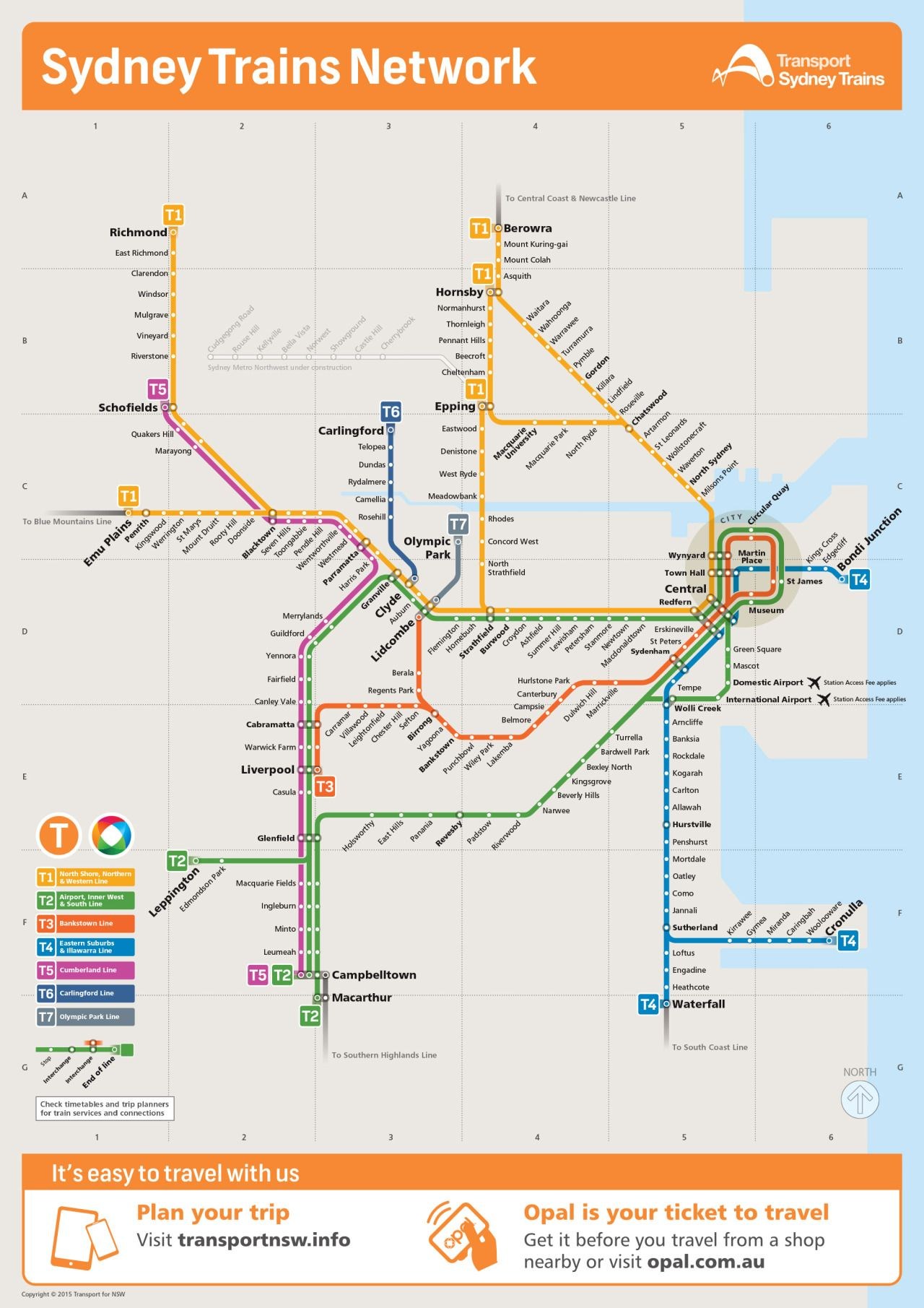 Submission Updated Official Map Sydney Trains Network