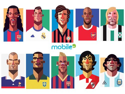 30 Football Legend Wallpapers By Daniel Nyari Mobile9 Com Football Football Players Players