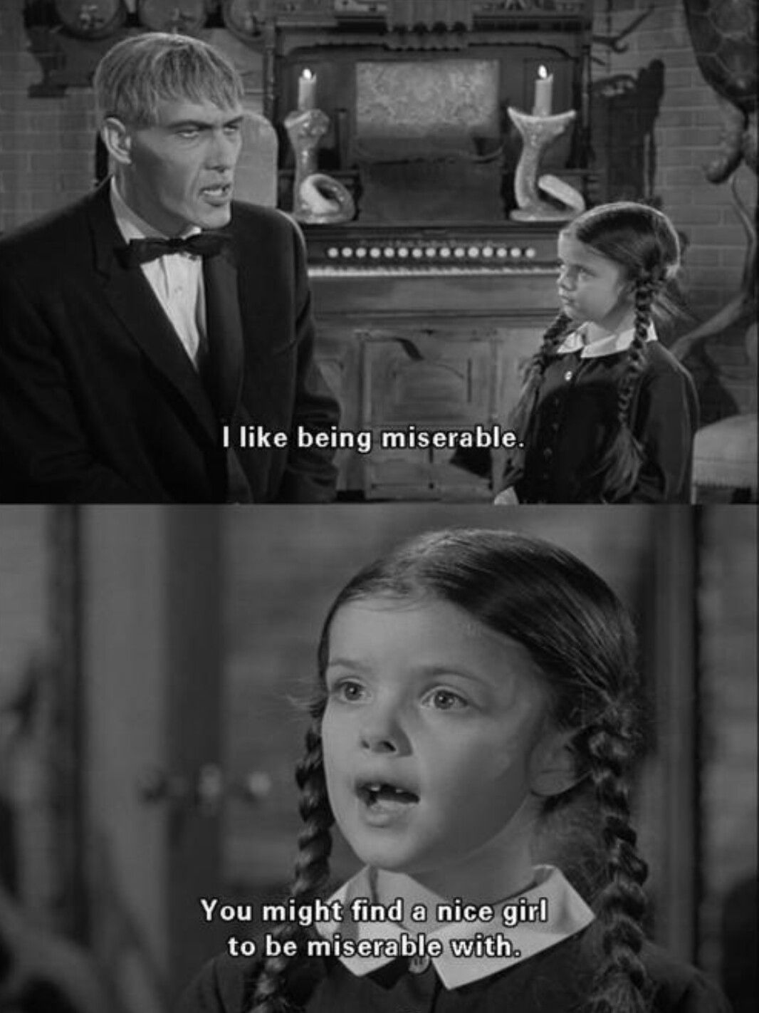 The addams family most people nowadays haha